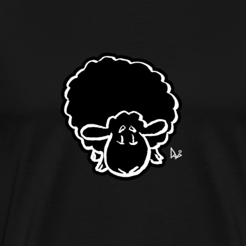 Black Sheep - Herre premium T-shirt