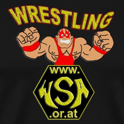 wsa logo - Männer Premium T-Shirt