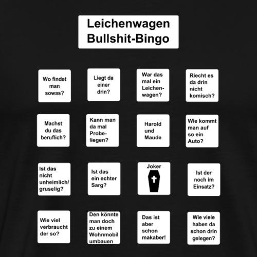 Leichenwagen Bingo - Männer Premium T-Shirt
