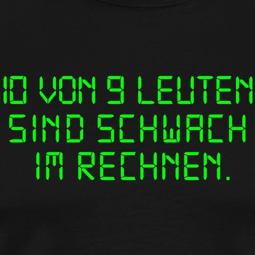 Dyskalkulie - Männer Premium T-Shirt