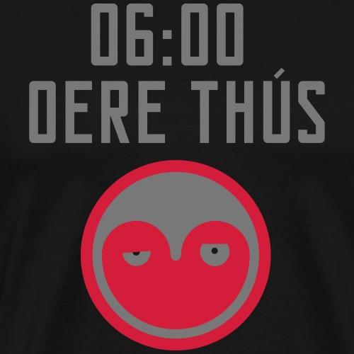 6 oere tus - wit - Mannen Premium T-shirt