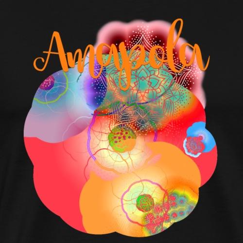 AMAPOLA - Camiseta premium hombre