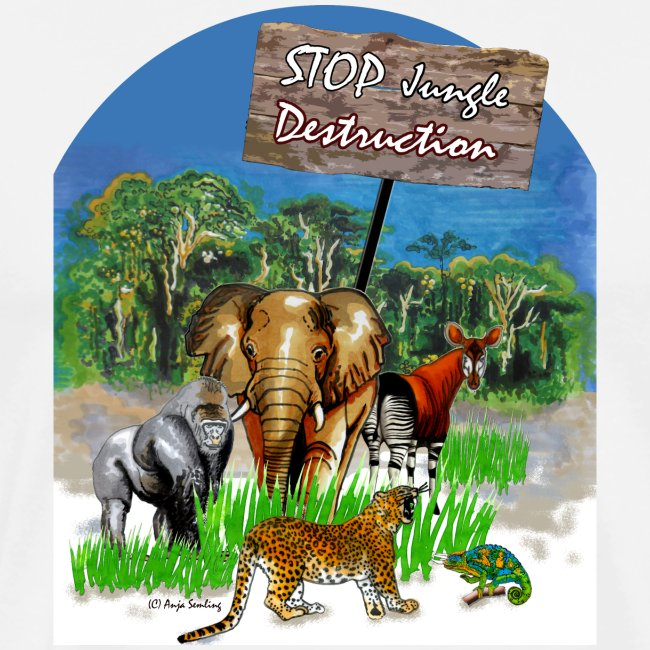 STOP - Jungle Destruction