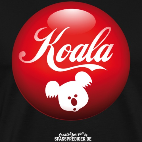 Koala T Shirt Design - Männer Premium T-Shirt