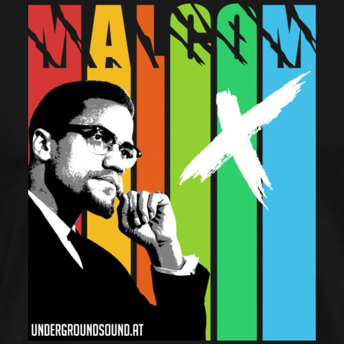 MALCOM X colourful - Männer Premium T-Shirt