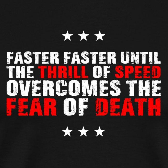 Thrill Speed Fear Dead
