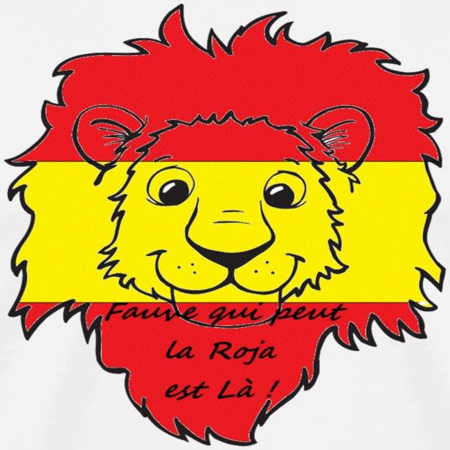 Lion supporter Espagne