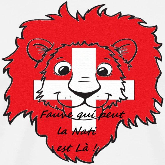 Lion supporter Suisse
