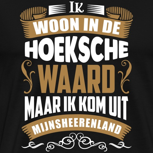 Mijnsheerenland - Mannen Premium T-shirt