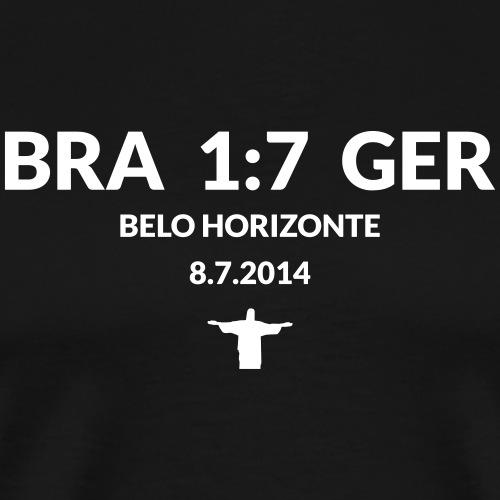 BRA-GER 1:7 - Männer Premium T-Shirt