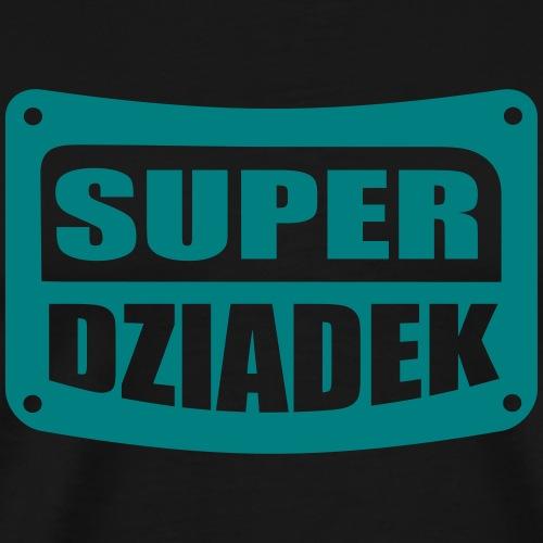 Super dziadek - Koszulka męska Premium