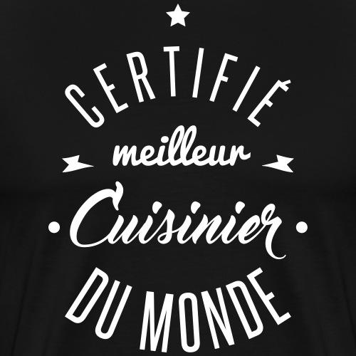 meilleur cuisinier - T-shirt Premium Homme