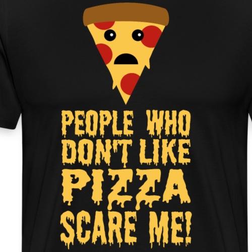 Lustiger Pizza Spruch - Männer Premium T-Shirt