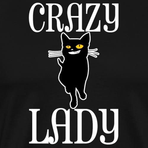 Crazy Cat Lady - Männer Premium T-Shirt