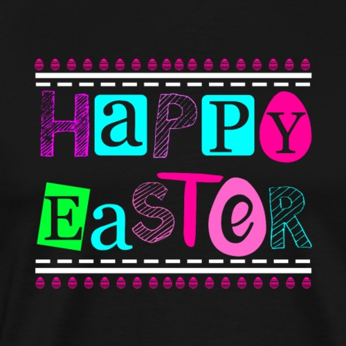 Happy Easter - Frohe Ostern - Männer Premium T-Shirt