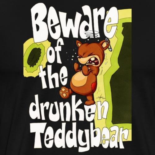 drunkenTeddy - Männer Premium T-Shirt