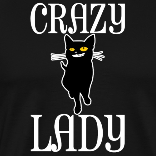 Crazy Cat Lady - Männer Premium T-Shirt