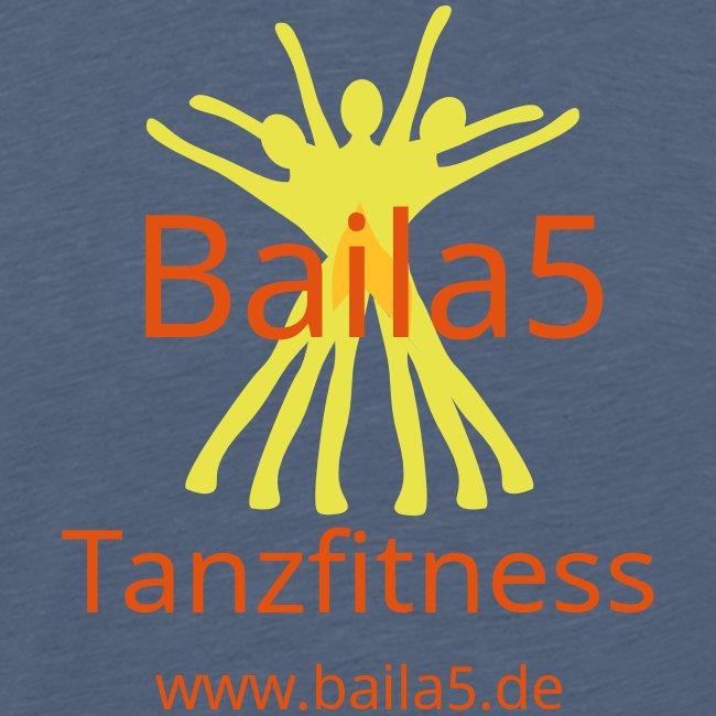 Baila5 Tanzfitness gelb