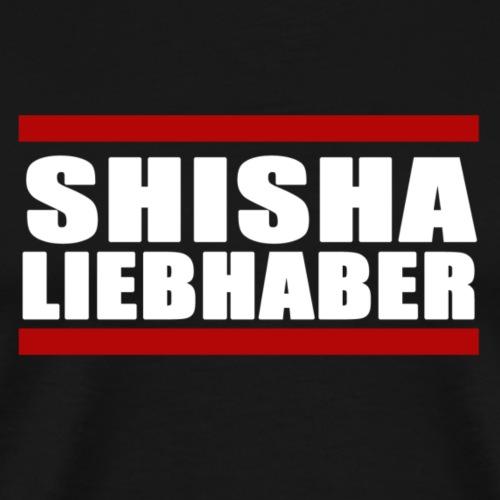 ShishaLiebhaber - Männer Premium T-Shirt