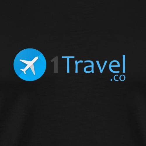 1travel logo original - Men's Premium T-Shirt