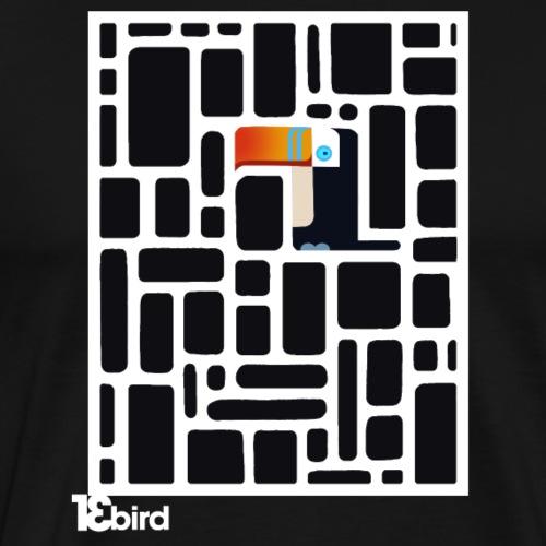 13 bird - Männer Premium T-Shirt