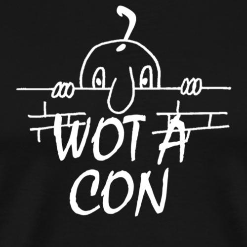 WOT A CON - Men's Premium T-Shirt