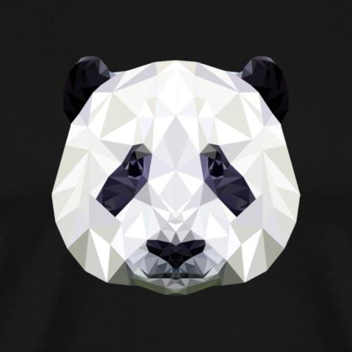 Panda Low Poly - T-shirt Premium Homme