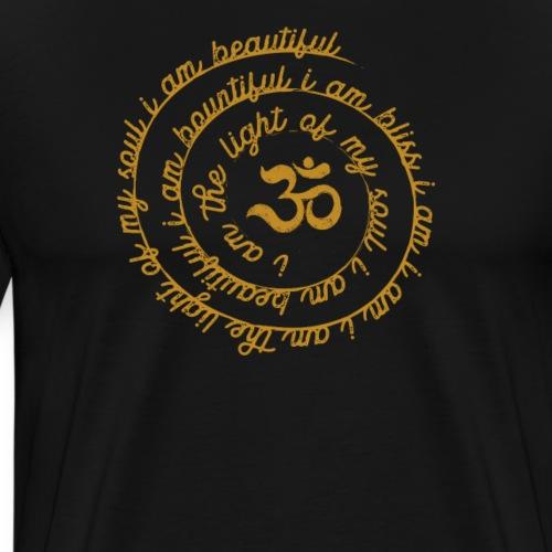 Yoga Mantra Fashion I am the light of my soul