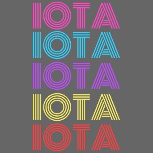 IOTA RETRO - 80s Kryptowährung