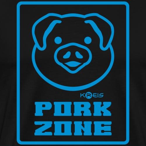 Pork Zone b1 _ byTed - Maglietta Premium da uomo
