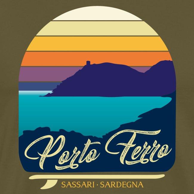 Porto Ferro - Vintage travel sunset