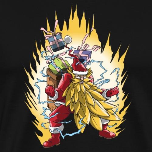 Père Noël & Transformation Super Santayen (2) - T-shirt Premium Homme