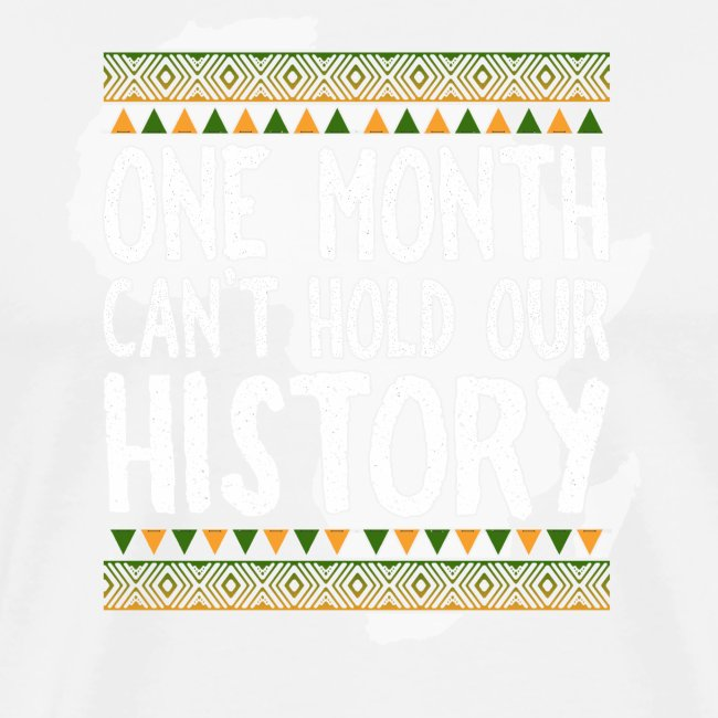One Month Cannot Hold Our History Africa
