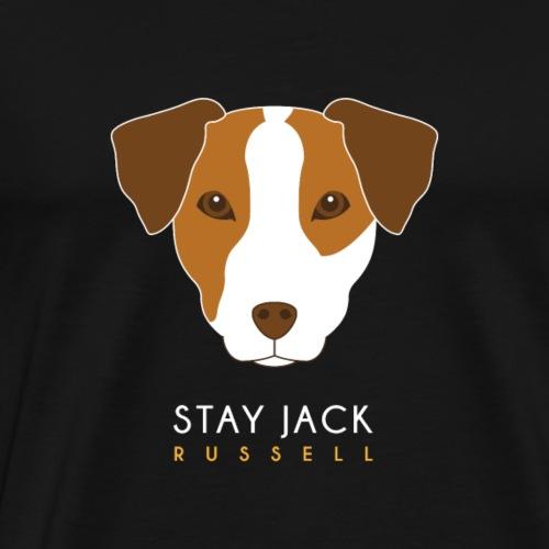 Jack Russell - Maglietta Premium da uomo