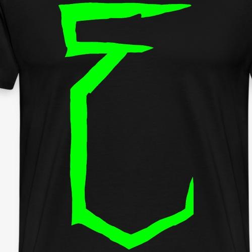 ERRRSAATZ Radioactive Green - T-shirt Premium Homme
