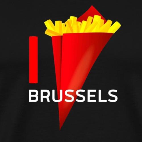 I LOVE BRUSSELS - T-shirt Premium Homme