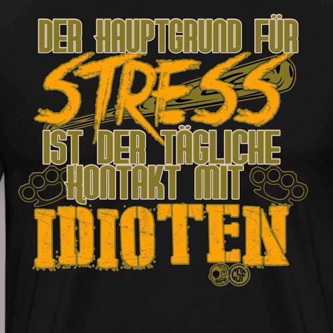 Der Hauptgrund für Stress ist der tägliche Kontakt Premium