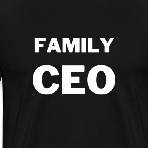 Family CEO | Tee with a cause - Männer Premium T-Shirt