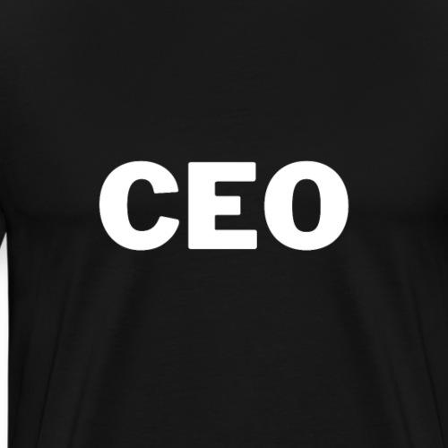 CEO, Unternehmer, Erfolg   Tee with a cause - Männer Premium T-Shirt