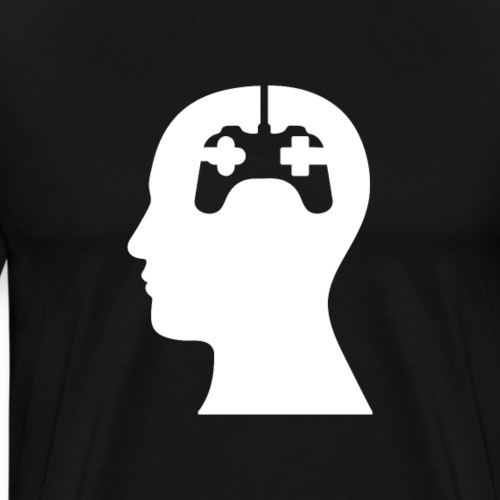 Gamer Brain Controller | Tee with a Cause - Männer Premium T-Shirt