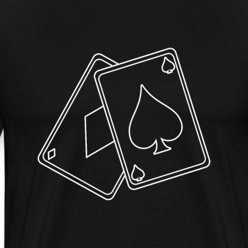 Gamer Cards Poker | Tee with a Cause - Männer Premium T-Shirt