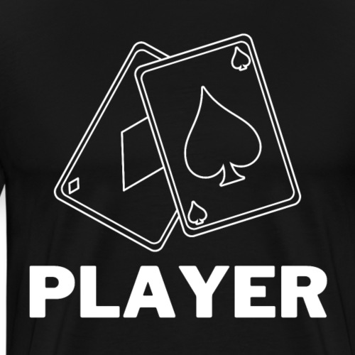 Gamer Cards Player | Tee with a Cause - Männer Premium T-Shirt