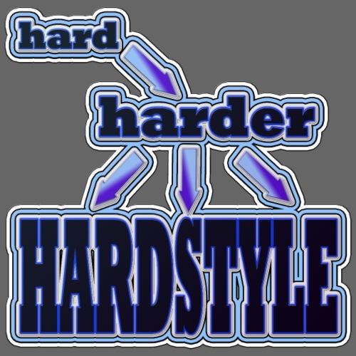 hard - harder - HARDSTYLE - Männer Premium T-Shirt