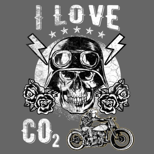 I love CO2 Fridays for Hubraum - Männer Premium T-Shirt