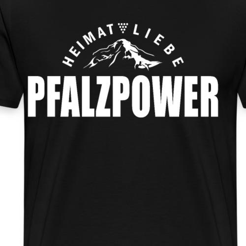 Pfalzpower Pfälzer - Männer Premium T-Shirt