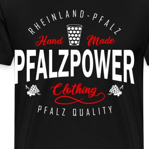 Pfalzpower Pfälzer Weinfest - Männer Premium T-Shirt