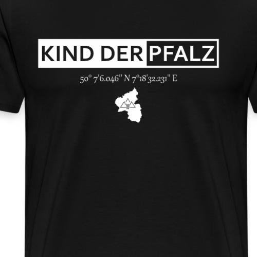 Kind der Pfalz Pälzer Kinner - Männer Premium T-Shirt