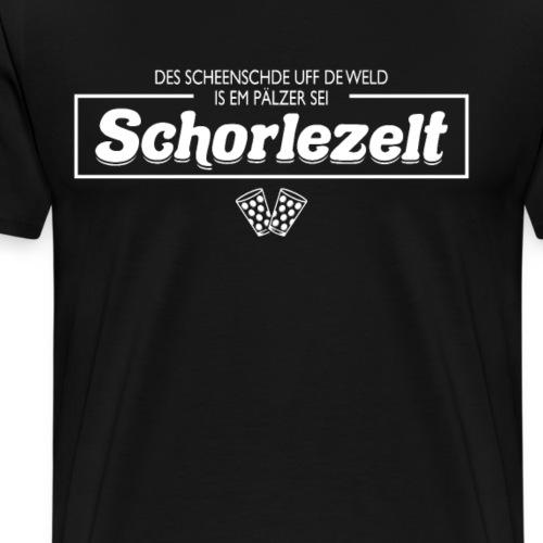 Pälzer sei Schorlezelt Schorle - Männer Premium T-Shirt