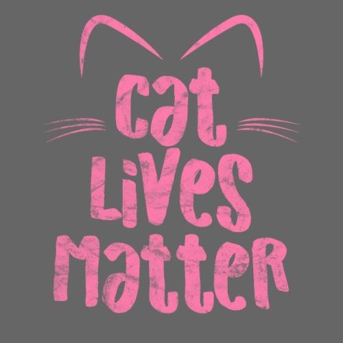 Cat Lives Matter Katzen sind auch wichtig - Männer Premium T-Shirt
