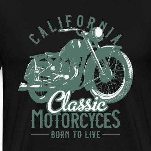 Motorrad Biker Sprüche Geschenk - Männer Premium T-Shirt